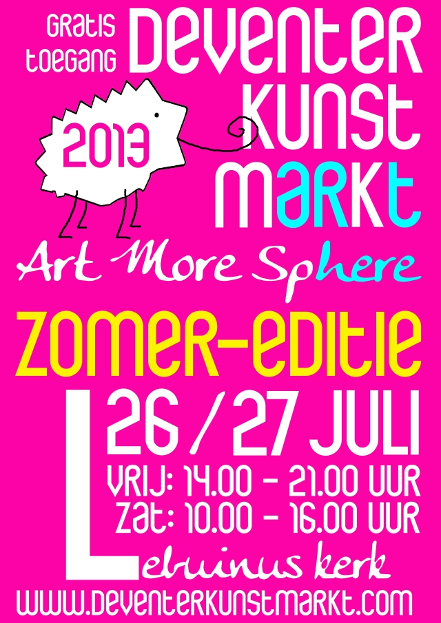 POSTER Art More Sphere Zomer-editie - DKM 2013 - [JPEG]